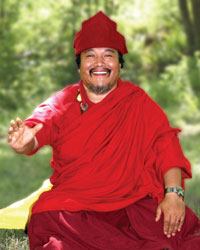 Khenpo Choga at the DRC Summer 2007