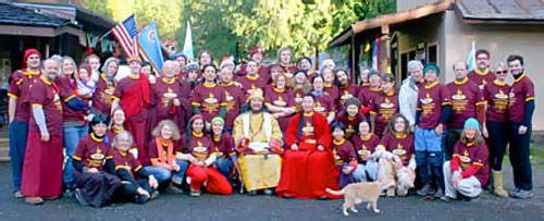 Dzogchen Internship graduating class of 2008